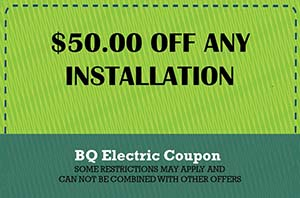 BQ Electric Any Install Coupon