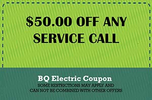 BQ Electric Service Call Coupon