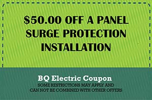 BQ Electric Surge Protection Coupon
