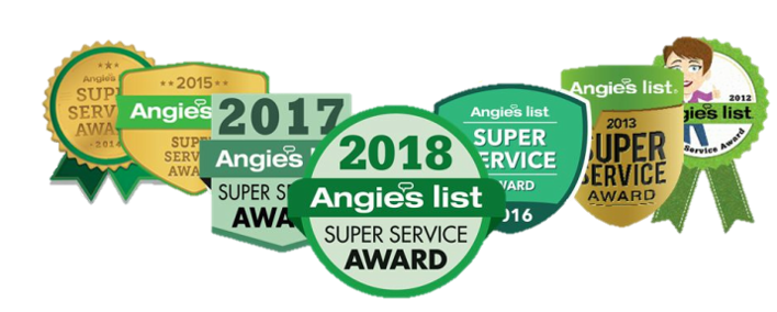 BQ Electric Angies List Award Winner